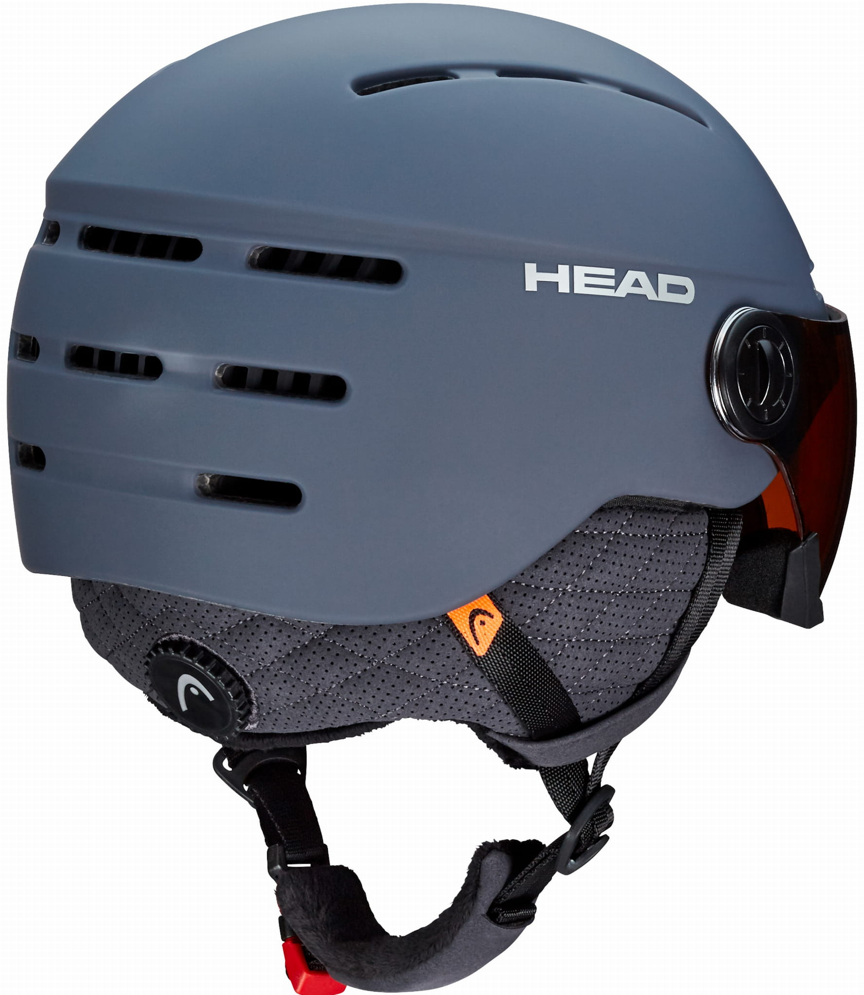 Kask HEAD Knight Pro Anthracite + Sparelens 2020