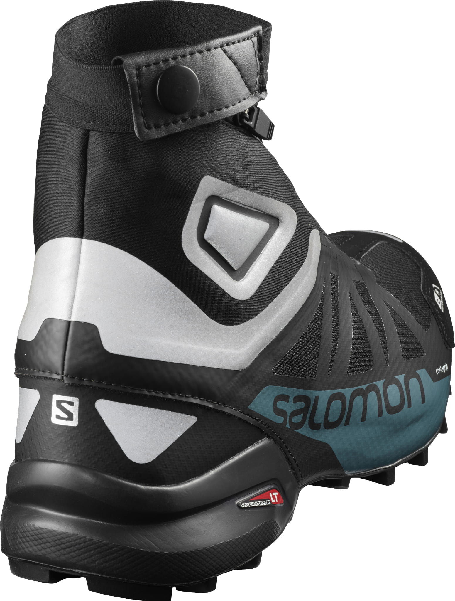 BUTY SALOMON SNOWCROSS 2 CSWP BlackReflec 404704