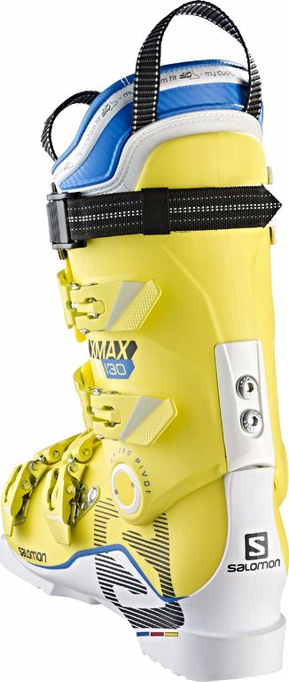 Buty Salomon X Max 130 WhiteYellow 2017
